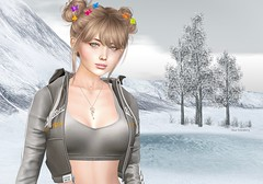 Look after black friday (Rose Sternberg) Tags: liz shape for genus bento project baby face head maitreya lara body second life event 2019 style native urban nora set hood top truth kitten hair hairstile april skin champagne marketplace