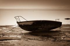 Boat (aidy14) Tags: beach boat fylde lancashire lytham sea seaside