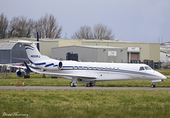 TVPX Aircraft Solutions Inc. EMB-135BJ Legacy 650 N650RJ (birrlad) Tags: shannon snn international airport ireland aircraft aviation airplane airplanes bizjet private passenger jet parked apron ramp taxiway tvpx solutions inc emb135bj legacy 650 n650rj embraer e35l