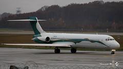 McDonnell Douglas MD-87, AMAC Aerospace, VP-CTF (maxguenat) Tags: lsgg gva avion airplane aircraft décollage