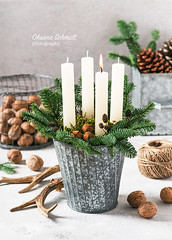 December 1st (sch.o.n) Tags: 1 4 advent atmospheric background beautiful bright brown burning candle candlelight candles card celebration christmas color concepts december decor decoration decorative design festive fir fire flame four gift green handmade happy holiday light natural nature new nut pot religion rustic season seasonal symbol table tradition vintage walnut white winter wreath
