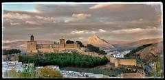Antequera Alcazaba last light (ranp121) Tags: antequera alcazaba la peña de los enamorados face lovers leap dusk puesta sol