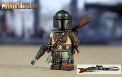 Custom LEGO Star Wars The Mandalorian (LegoMatic9) Tags: custom lego star wars the mandalorian minifigure figure baby yoda