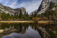 Mirror Lake (CraDorPhoto) Tags: canon6d landscape nature outdoors outside water lake reflections yosemite california usa mountains trees