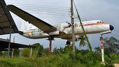 NAMC YS-11A c/n 2097 Phuket Air registration HS-KVU preserved at Nong Khor Airfield (Erwin's photo's) Tags: namc ys11a cn 2097 phuket air registration hskvu preserved nong khor airfield wr w r wrecks relics aircraft aviation ys11