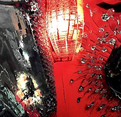 the mirror explodes (CatnessGrace) Tags: mirrors red black silver decor lights lighting hss sliderssunday