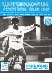 Waterlooville v Thame United (Havant & Waterlooville) Tags: havant waterlooville thame united fa cup football programme
