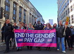 end gender pay gap 2019 (Sean Wallis) Tags: london climate demo demonstration solidarity pay pensions uss march protest casualisation insecurity climatecrisis