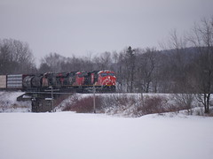 Rivière-Verte,NB (MaineTrainChaser) Tags: cn west westbound trains train 121 quebec new brunswick