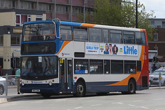 NDZ 3018, The Hard, Portsmouth, May 6th 2019 (Southsea_Matt) Tags: alexanderdennis alx400 southdown stagecoachhampshire may spring 2019 trident ndz3018 18518 travelinterchange thehard portsmouthharbour hampshire unitedkingdom england bus omnibus vehicle transport
