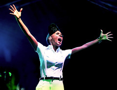 Happy Birthday, Janelle Monáe! (kirstiecat) Tags: janellemonáerobinson janellemonáe happybirthday racism emotions energy power anger microacression whiteprivelege concert music coachella feminism intersectionalfeminism sexism politics
