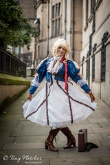 CHARACTER - 'VIOLET EVERGARDEN' (tonyfletcher) Tags: comic animation animate comiccon costume cosplay anime sheffieldanimegamingcon sheffieldanimegamingcon2019 nikon nikkor nikond750 nikkor85mmf18 violetevergarden