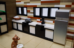 Curry House MOC. Kitchen interior. (betweenbrickwalls) Tags: kitchen design moc afol interior interiordesign interiorphotography architecture living modernliving