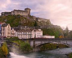 Château de Lourdes, France (Jacques Borruel) Tags: château histoire moyenâge pierres rivière gavedepau grotte miracle