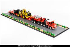 "Scania T143 ""Spreen"" (legotrucks) Tags: scania t143 lego legotrucks dennisbosman nooteboom sbrick powerfunctions"