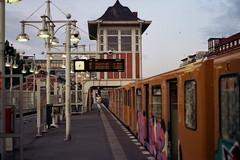 (Antía Davila) Tags: berlin europe travel photography train pentax k1000 35mm analogue film germany summer street urban city september