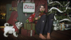 *It's beginning to look a lot like fuck this* ❤️ (Ⓐⓝⓖⓔⓛ (Angeleyes Roxley)) Tags: posed poses lonely christmas single bento sl secondlife mainstore event pose fair winter holiday