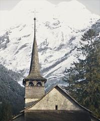 Marienkirche (koen_1234) Tags: switzerland alps gasteretal kandersteg autumn