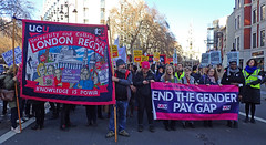 demo front 2019 (Sean Wallis) Tags: london climate demo demonstration solidarity pay pensions uss march protest casualisation insecurity climatecrisis