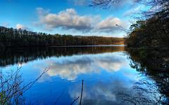 yesterday (Renate R) Tags: light sky reflections water lake berlin schlachtensee bestcapturesaoi