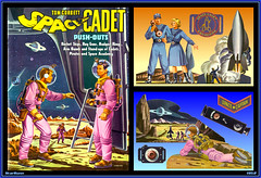 Tom Corbett, Space Cadet - Push-Outs  1952  1 (StarRunn) Tags: tomcorbett spacecadet saalfield punchoutbook childrensbook tv space adventure sf sciencefiction toy 1950s florian spaceship rocketship