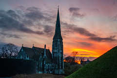 St Alban's Anglican Church Sunset (Svermund) Tags: solnedgang1decemberadvendtcitadelkastelletsunsetkøbenhav copenhagen denmark solnedgang1decemberadvendtcitadelkastelletsunsetkøbenhavncopenhagendanmarkdenmarkadvent solnedgang1decemberadvendtcitadelkastelletsunsetkøbenhavncopenhagendanmarkdenmarkadventstalbansanglicanchurchchurchillparken11