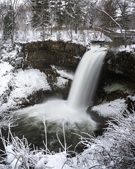 Minnehaha Falls (Nick Busse) Tags: minnehahacreek minnehahafalls minneapolis minnesota park waterfall winter