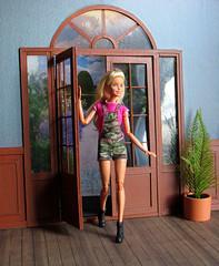 DIY Double Doors (back2s0ul) Tags: custom dollhouse barbie camping fun crafts diy