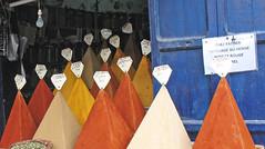 The Spice Collection (Ellsasha) Tags: essaouira morocco spices shop colors colours local produce