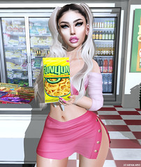 Munchies (sᴇɴᴅ ɪᴛ!) Tags: secondlife sl scandalize doux catwa maitreya mons avaway groceries shopping funyuns munchies