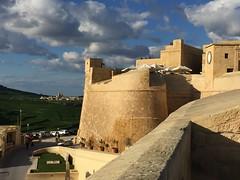 084_Rabat (SmoKingTiger1551) Tags: malta gozo isle mediterranean rabat citadel stonewall clouds landscape