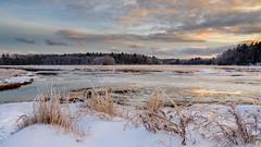 Scarborough Marsh, Maine (jtr27) Tags: dscf5530xl jtr27 samyang rokinon 16mm f2 f20 manualfocus wideangle scarborough marsh landscape winter maine christmaseve newengland