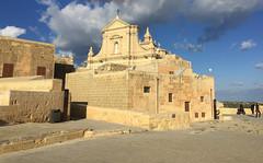 085_Rabat (SmoKingTiger1551) Tags: malta gozo isle rabat citadel cathedral church mediterranean clouds stonewall
