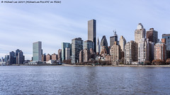 View from Roosevelt Island (20191129-DSC01100) (Michael.Lee.Pics.NYC) Tags: newyork rooseveltisland eastriver midtown skyline architecture cityscape un unitednations chryslerbuilding onevanderbilt sony a7rm4 fe24105mmf4