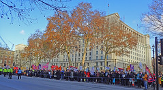demo outside downing st (Sean Wallis) Tags: climate strike demo march solidarity ucu uss protest london