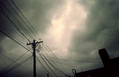 Asoma detràs de las nubes... (mavricich) Tags: latinoamérica argentina atardecer analógico analogic contraluz color colores ferrania solaris canon prima film calle cielo ciudad naturaleza sky nubes nublado cloud clouds