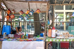 Slow day (Beegee49) Tags: street people woman market stall quiet happy planet sony a6400 talisay city philippines asia