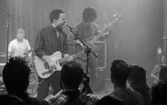 Dawes, El Sol Madrid (Chilanga Cement) Tags: fuji fujix100f fujifilm fujix music livemusic dawes bass guitar taylorgoldsmith bw blackandwhite monochrome concert