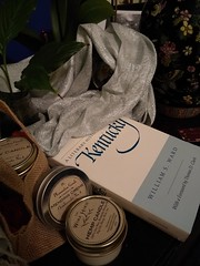 Shopping Local for the rainy Holiday Hop in Paris, KY (karen3292) Tags: paris ky parisky bourboncounty hemp soy pleasantongoods book williamaward literary writers