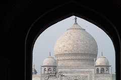 Taj Mahal (2) (SewerDoc (4 million views)) Tags: india tajmahal agra travel building memorial explore