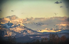On Wings (robinlamb1) Tags: landscape mountainscape mountains mountain abbotsford geese snow cloud sky