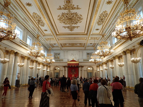 The Hermitage: Large Throne Room