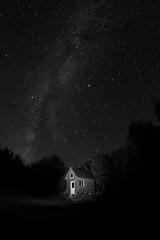 IMG_7253 (friesenmulholland) Tags: stars night sky dark midnight nightsky starry starrynight moon darkness galaxy milkyway solar system astronomy cabin woods isolated lonely