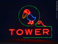 Jayhawk Tower sign at night, 27 Nov 2019 (photography.by.ROEVER) Tags: kansas shawneecounty topeka downtowntopeka 2019 november november2019 night evening nightphoto nightphotograph nightphotography sign neon neonsign jayhawktower jayhawktowerneonsign color colour colors colours usa