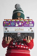 Day 4687 (evaxebra) Tags: wh wah advent calendar calendars hat ugly sweater star wars marvel harry potter lego trader joes december