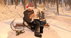 Christmas In The Park (blissraincloud) Tags: secondlife secondlifeevents slevents slfashion secondlifefashion secondlifeevent secondlifedecor sldesigners secondlifeshopping sldecor allthingsevents aftermidnightfashion pixlposes ftwb followthewhitebunneh