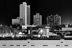 City of Fort Myers, Lee County, Florida, USA (Photographer South Florida) Tags: fortmyers ftmyers city cityscape urban downtown skyline leecounty southwestflorida density centralbusinessdistrict highrise building architecture commercialproperty cosmopolitan metro metropolitan metropolis sunshinestate realestate caloosahatcheeriver thomasedison citycenter northfortmyers condominium monochrome monochromatic blackandwhite nightphotography