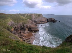 Photo of Lydstep Cliffs