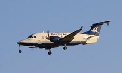 Buddha Air Beech (Treflyn) Tags: beechcraft 1900 beech 1900d 9naee buddha air final approach kathmandu tribhuvan international airport ktm