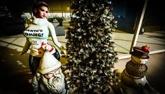 Santa's Coming - That's What She Said (faith Jolifaunt) Tags: secondlife theoffice christmas snowman santa christmastree